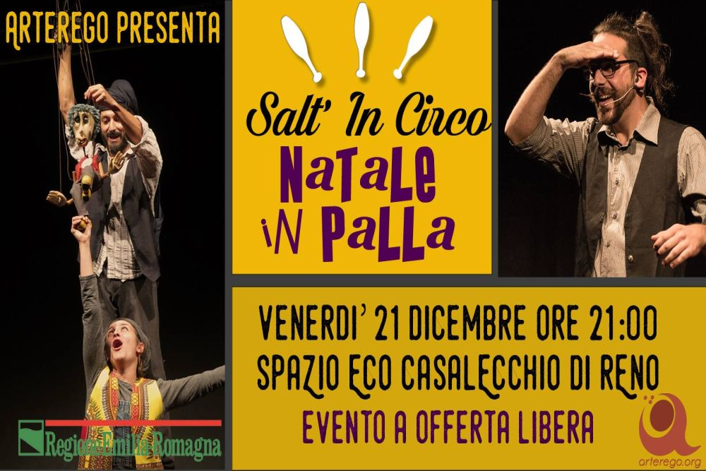 Natale in Palla: l'ultimo Salt'In Circo dell'anno