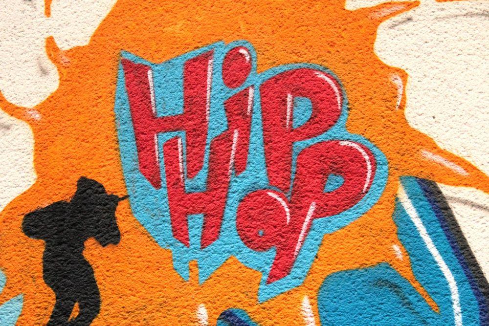 Festa delle scuole a base hip hop