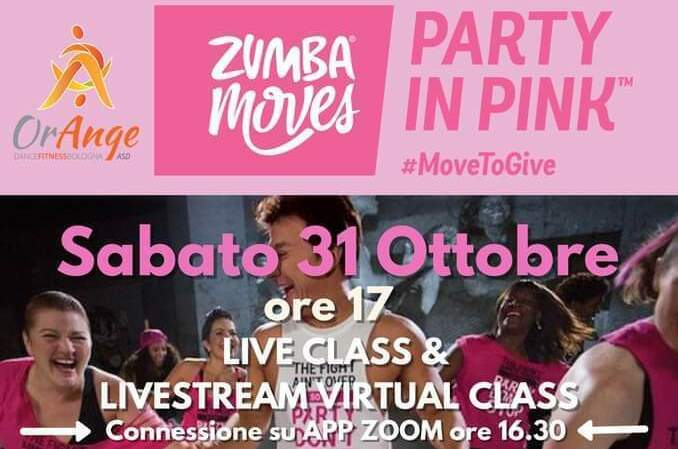 Zumba® Party in Pink™ 2020- RIMANDATO
