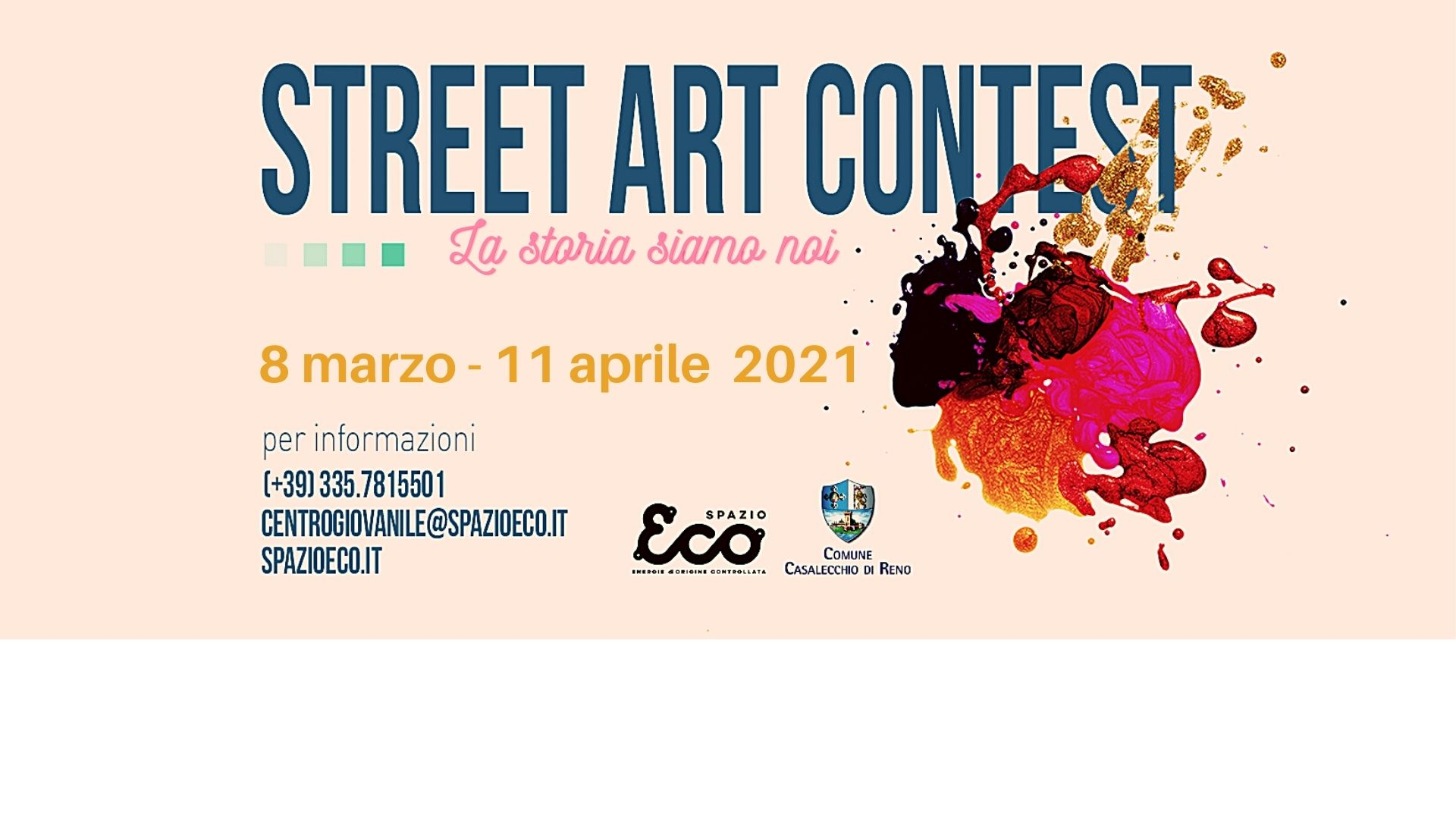 Street Art Contest 2021 – La storia siamo noi