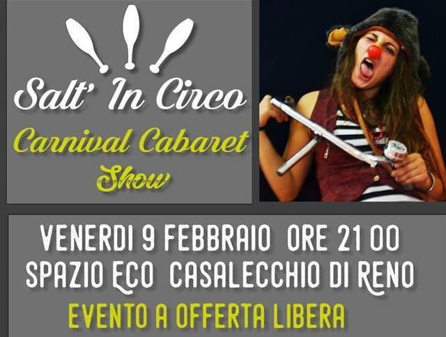 Salti'n Circo – Carnival cabaret show – 9 febbraio