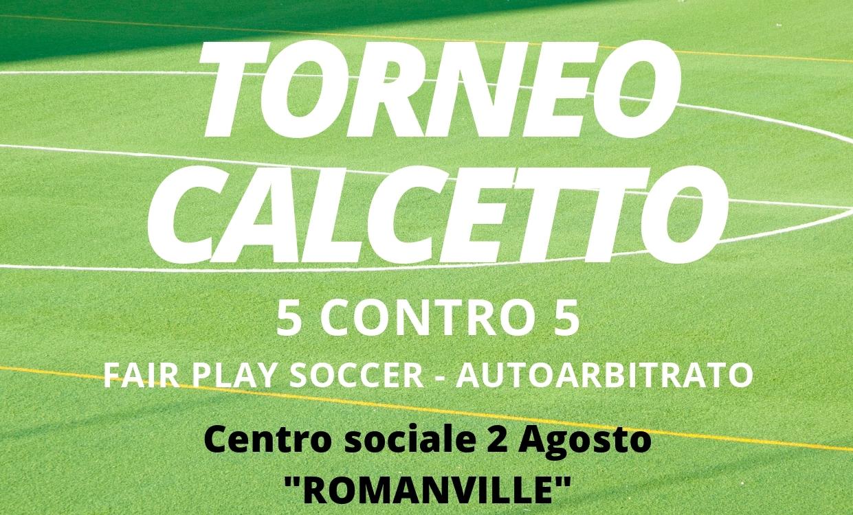Torneo di Calcetto – Fair play soccer